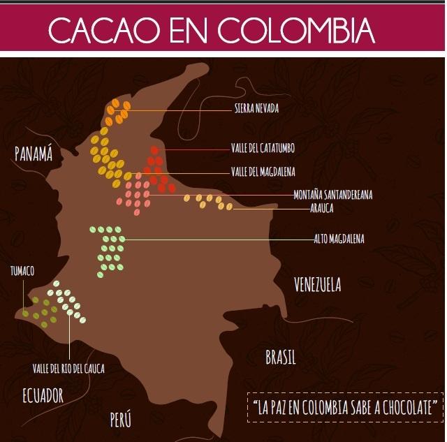 Truffelinos - Cacao Colombia