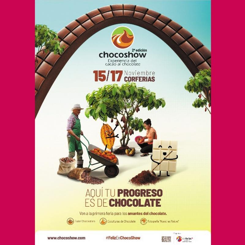 Choco Show Bogotá 2019. La gran fiesta del chocolate en Bogotá.